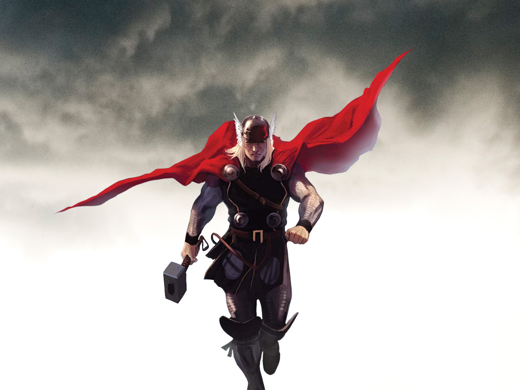 animated superhero hd wallpapers
