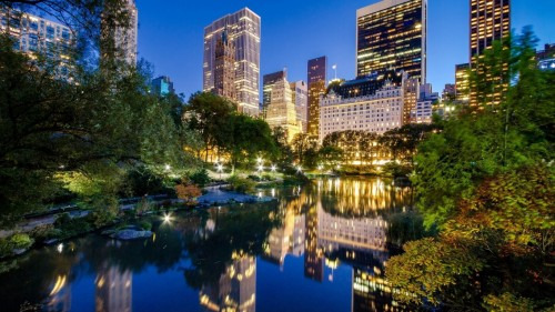 Central Park New York 1366 x 768 HDTV