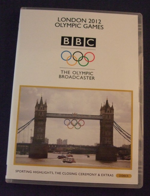 London 2012 olympics dvd r2 case2 front