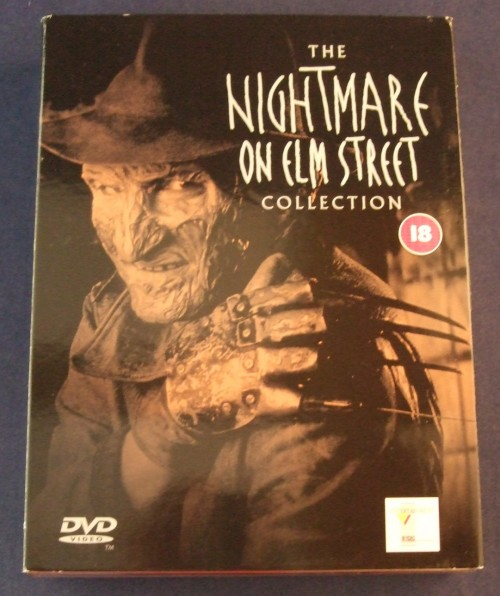 Nightmare on elm st collection dvd r2 front