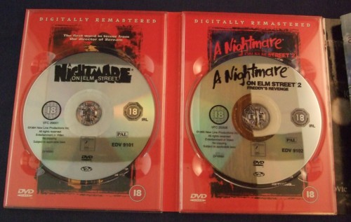Nightmare on elm st collection dvd r2 open2