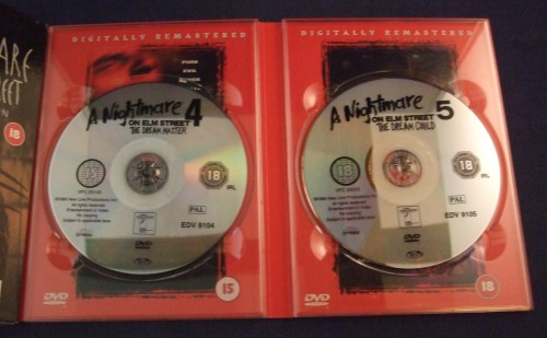 Nightmare on elm st collection dvd r2 open4