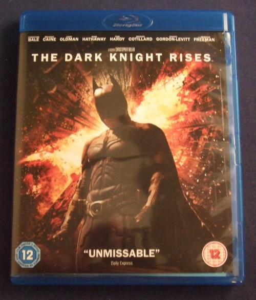 Dark knight rises bluray front