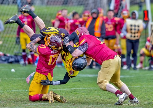 Gridiron Victoria: Action Tackle Shot
