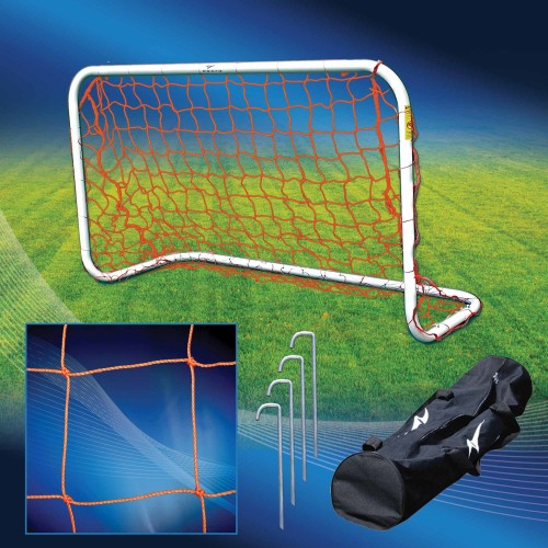Agora Portable Soccer Goal 3'x5 inches 1.5 inches Round Aluminum