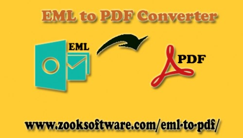Get EML to PDF Converter to bulk convert EML to PDF with attachments at once. It allows you to save and print multiple EML files to PDF format without any Adobe Reader.   More Info :- https://www.zooksoftware.com/eml-to-pdf/