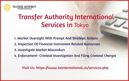 Transfer Authority International Services in Tokyo