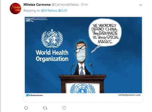 Screenshot 2020 04 19 Tedros Adhanom Ghebreyesus on Twitter The #COVID19 pandemic has reminded us of
