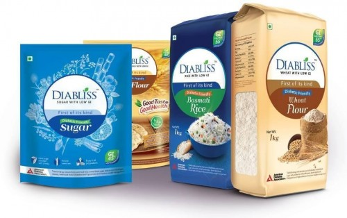 DiaBliss low glycemic index food company is the world's 1st producer of diabliss diabetic-friendly sugar and other DiaBliss products - DiaBliss Masala Tea/Ginger Tea/Lemon Tea, Diabliss Snacks, Diabliss Flour/Atta, Diabliss Jam, and Diabliss Cookies.   Website: https://diabliss.in/