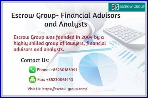 Escrow Group Financial Advisors and Analysts